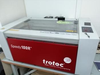 Лазерный станок Trotec speedy 100 25Вт Австрия купить б/у, цена 450 000 ₽ - Secondtool.ru